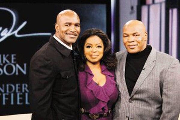 Holyfield-Oprah-Tyson friends