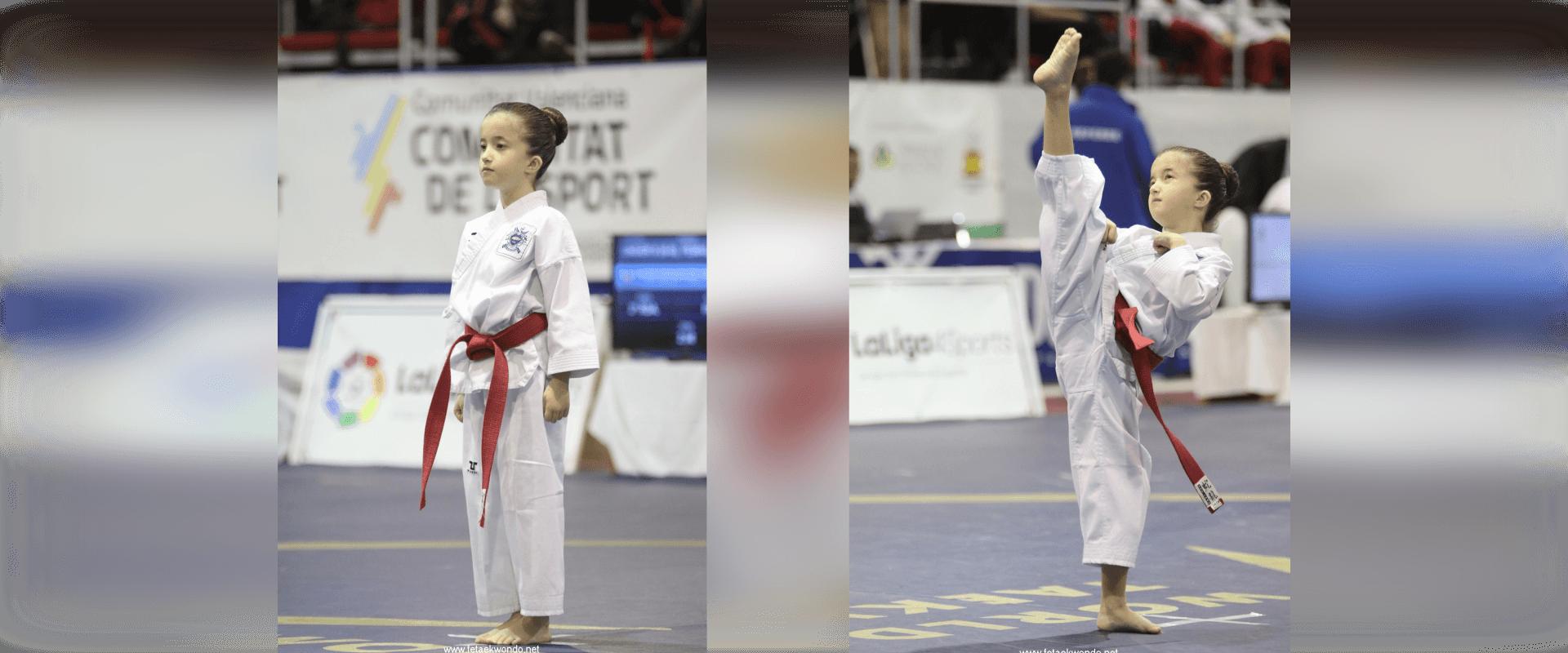 Competicion Poomsae Lucia