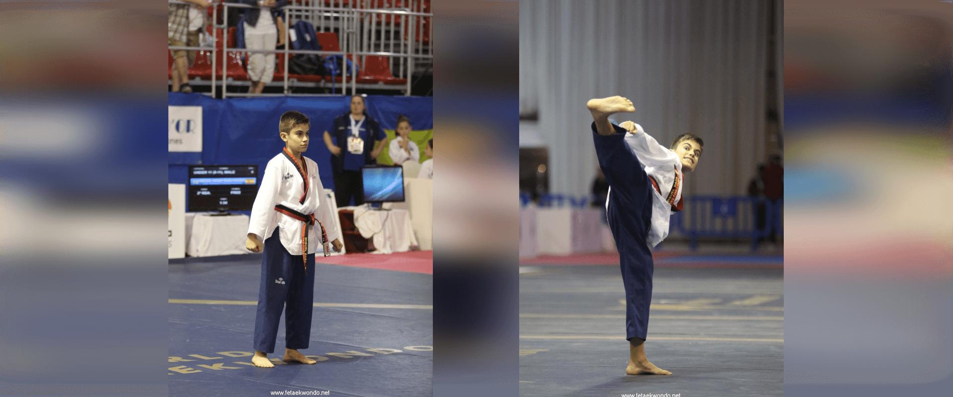 Competicion Poomsae Miguel