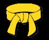 cinturon amarillo artes marciales