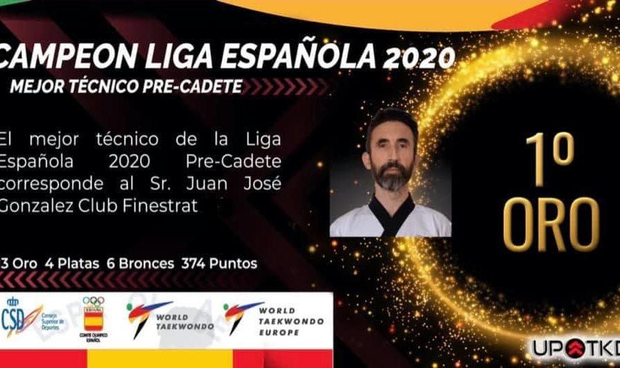 campeon liga española mejor tecnico precadete