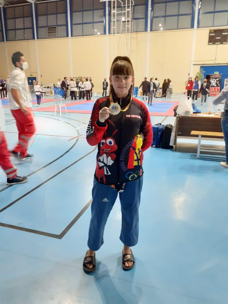 maria vidal frases levanta medalla de oro