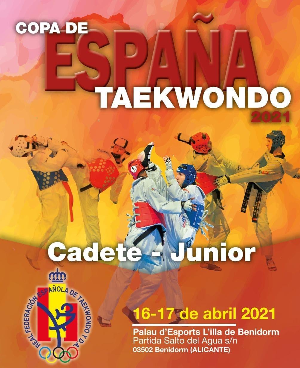 cartel open españa benidorm taekwondo abril 2021